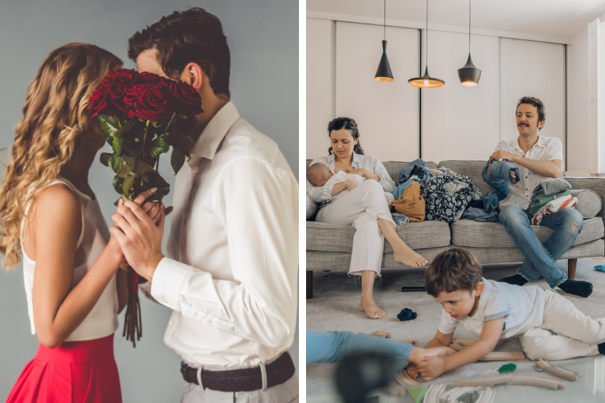 Amor real versus Amor romántico